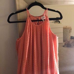 Elle pink sleeveless dress